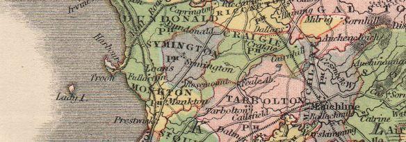 ayrshire-antique-county-map-parishes-ayr-kilmarnock-scotland-lizars-1885-2-207660-p