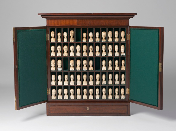 Phrenology Cabinet 19th century