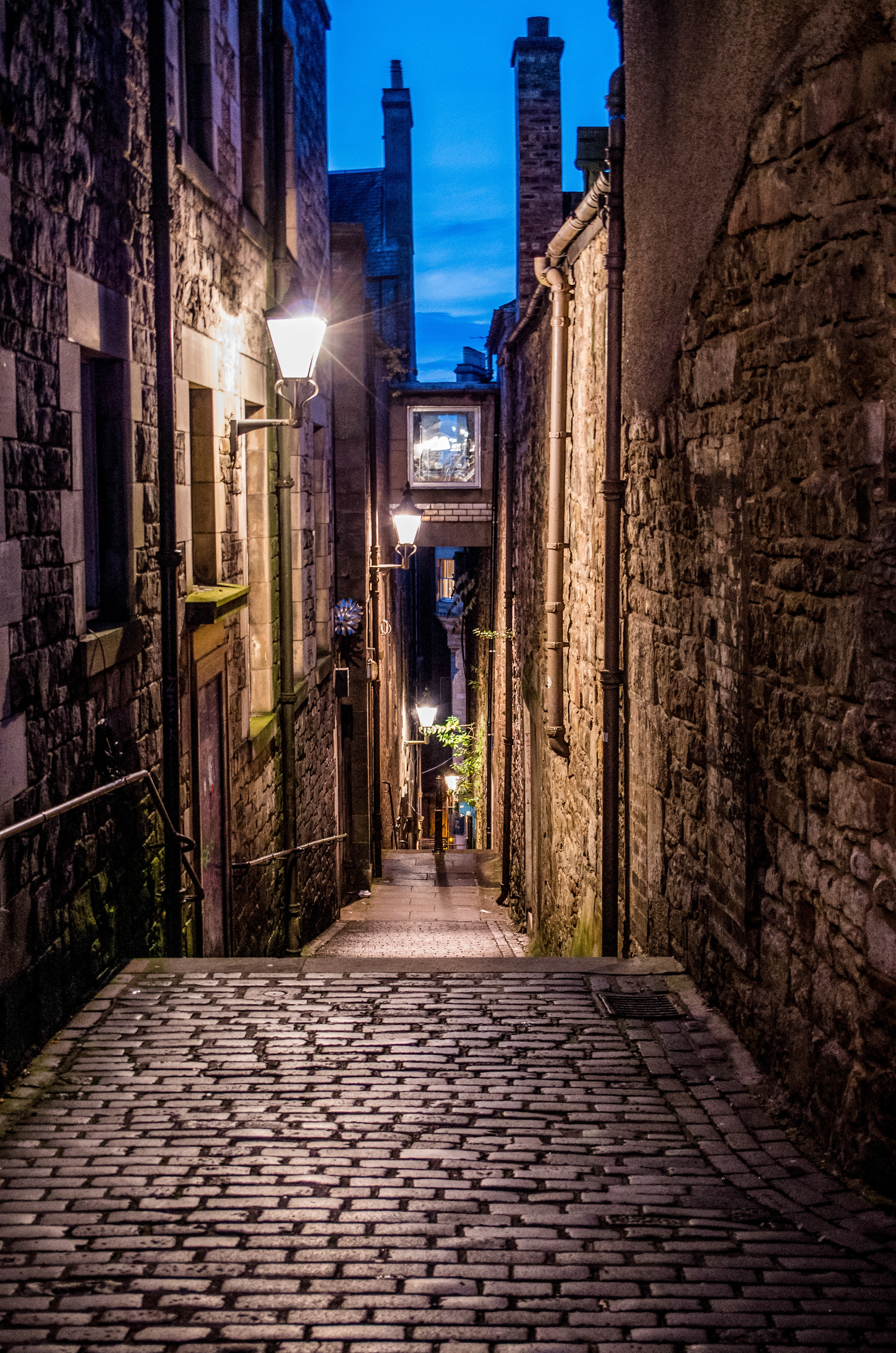 Alley in Edinburgh